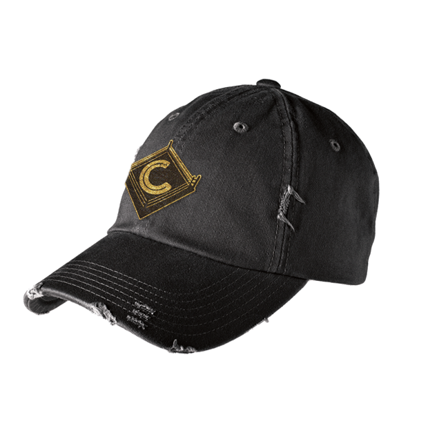 Crockett Wrestling Distressed Hat