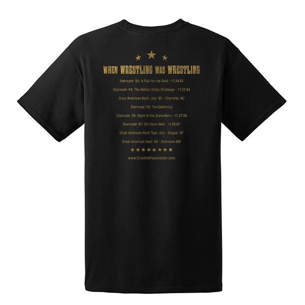 Crockett Foundation Wrestling Shirt